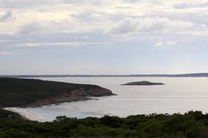View: Short Beach & Glassy Island