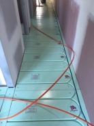Warmboard Hallway Install Albert Park 2