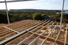 Top floor framing