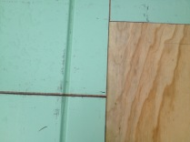 Warmboard joints