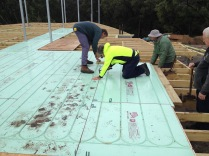 """Installing """"cold"""" warmboard"""