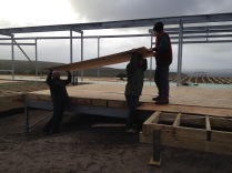 Warmboard on a freezing day