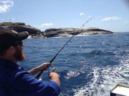 The hard Fisherman...