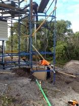 Damn that scaffold