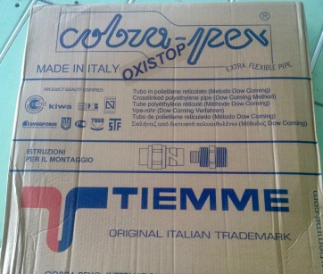 Pex for Downstairs
