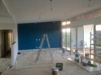 Lounge Feature wall...