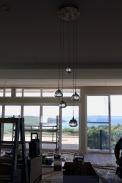 Island bench Cluster Lights